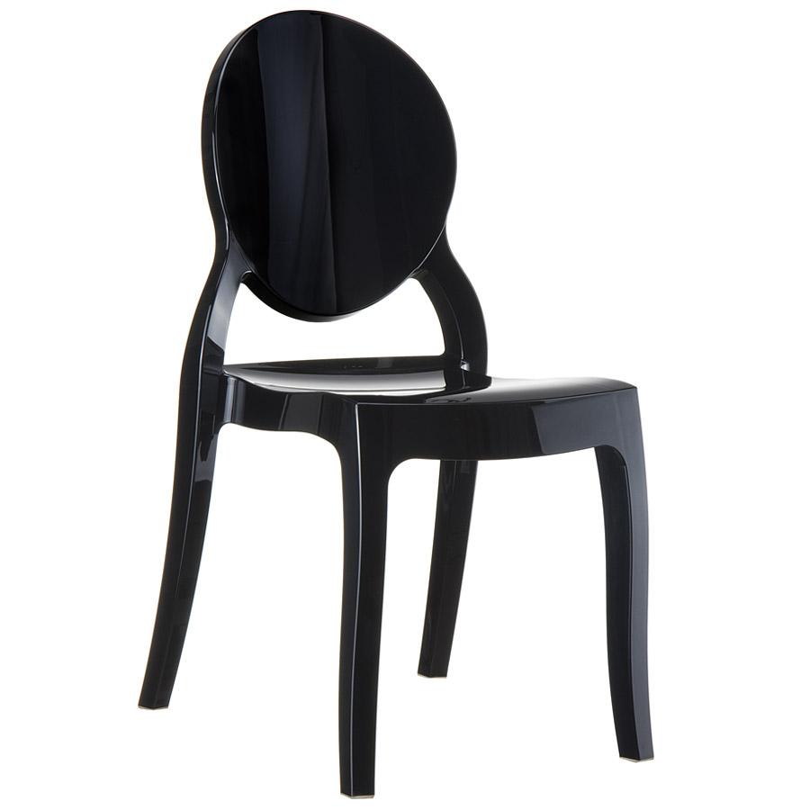 Médaillon En Noire Eliza Matière Plastique Design Chaise 8OP0kXnw