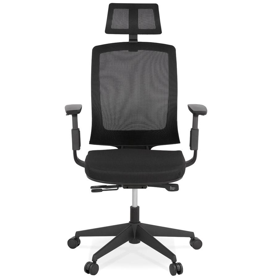 Fauteuil de bureau ergonomique ´EXTRA´ noir
