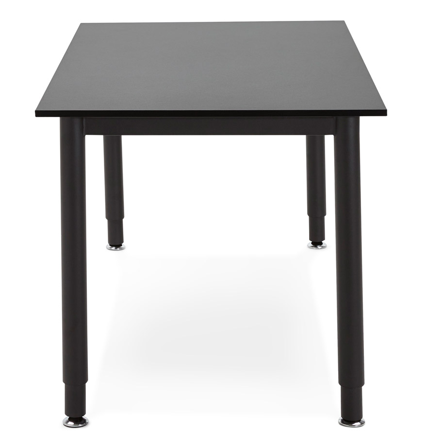 Table de réunion / bureau design ´FOCUS´ noir - 160x80 cm