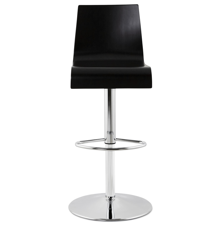 forest black psd h2 02 - Tabouret de bar réglable ´FOREST´ en bois noir