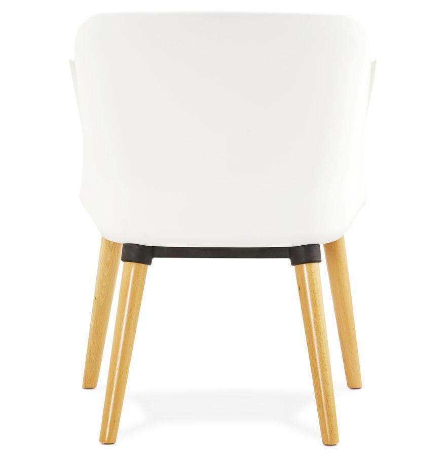Chaise design scandinave ´FRISK´ avec accoudoirs