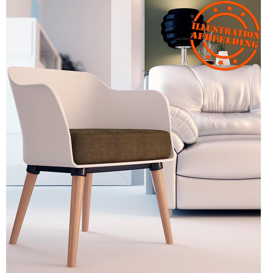 chaise design scandinave frisk avec accoudoirs chaise design. Black Bedroom Furniture Sets. Home Design Ideas