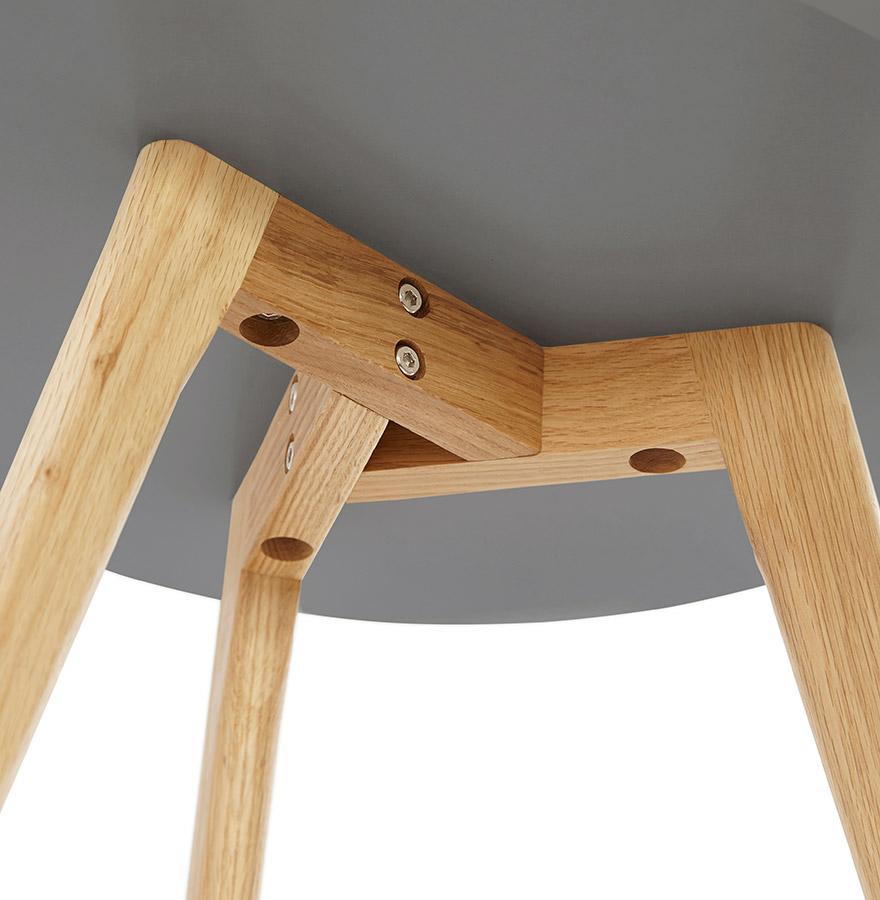 ronde donkergrijze mimiset gaby bijzettafel. Black Bedroom Furniture Sets. Home Design Ideas