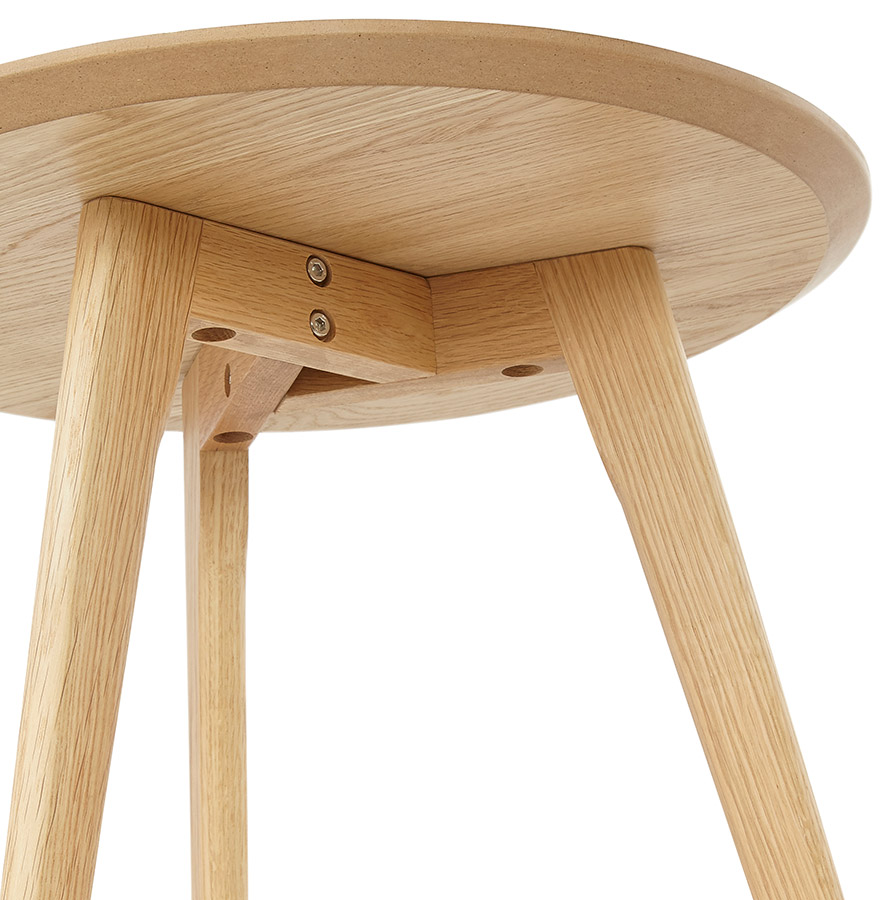 tables gigognes ronde gaby en bois naturel table d 39 appoint. Black Bedroom Furniture Sets. Home Design Ideas