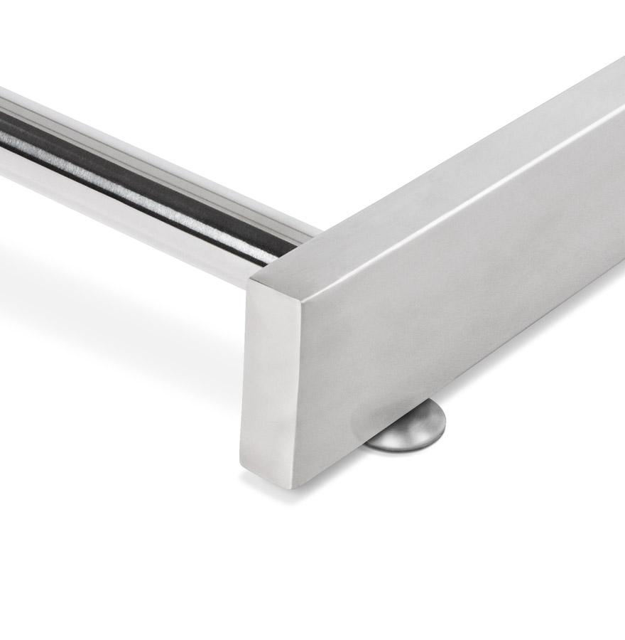 gama white newsite 04 1 - Bureau droit ´GAMA´ en bois blanc design
