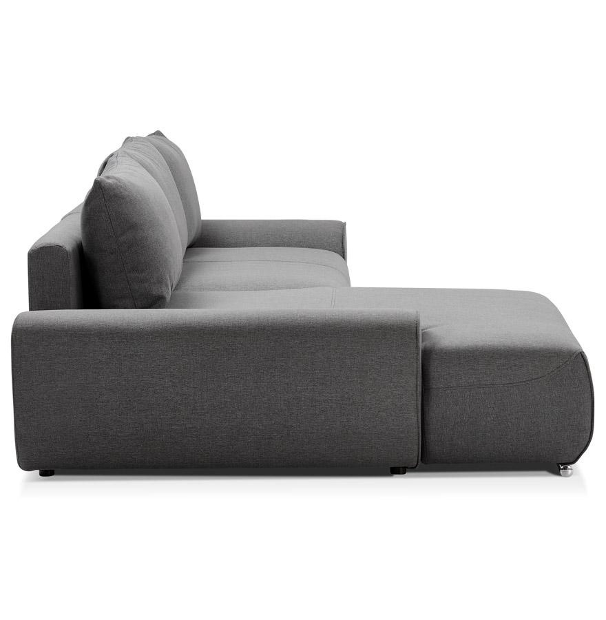 converteerbare design bank geronimo donkergrijs hoekbank. Black Bedroom Furniture Sets. Home Design Ideas