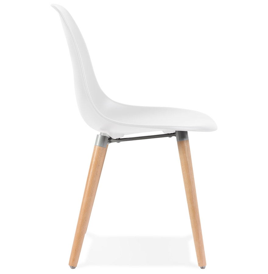 Chaise design scandinave ´GLORIA´ blanche