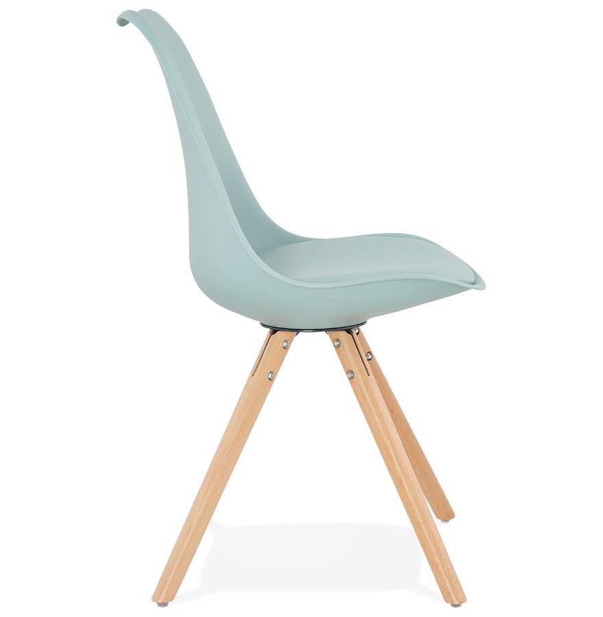 Chaise scandinave ´GOUJA´ bleue