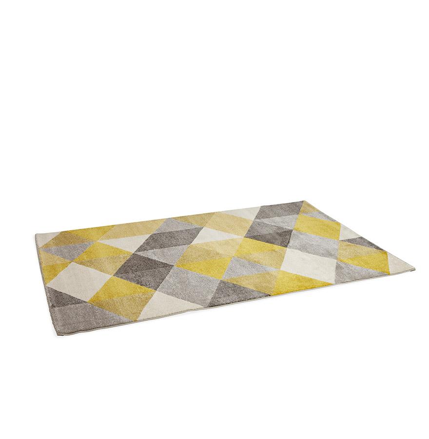 grafik yellow psd 01 - Tapis design ´GRAFIK´ 160/230 cm avec motifs graphiques jaunes