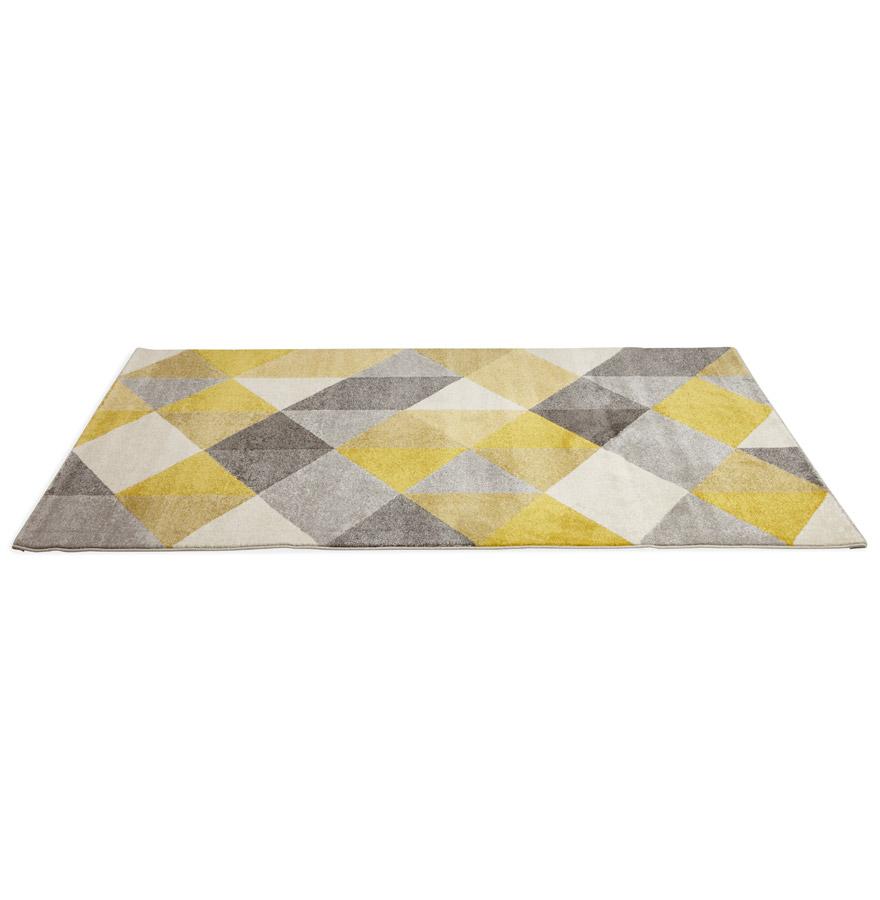 grafik yellow psd 02 - Tapis design ´GRAFIK´ 160/230 cm avec motifs graphiques jaunes