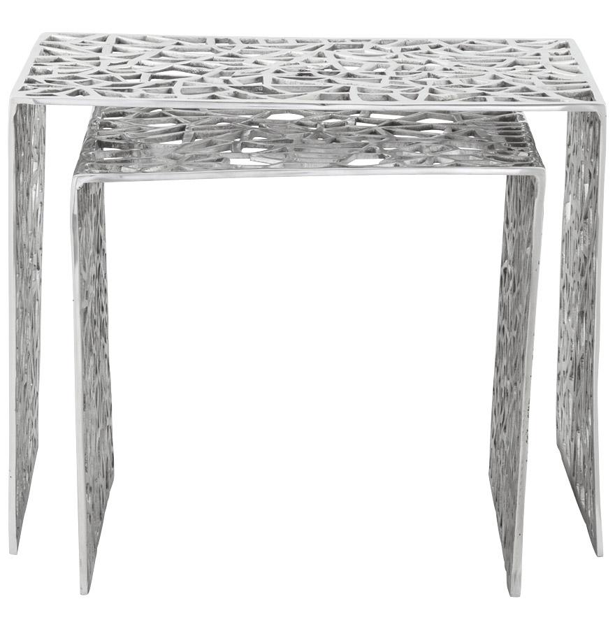 haki alu newsite 03 1 - Table d´appoint ´HAKI´ en aluminium