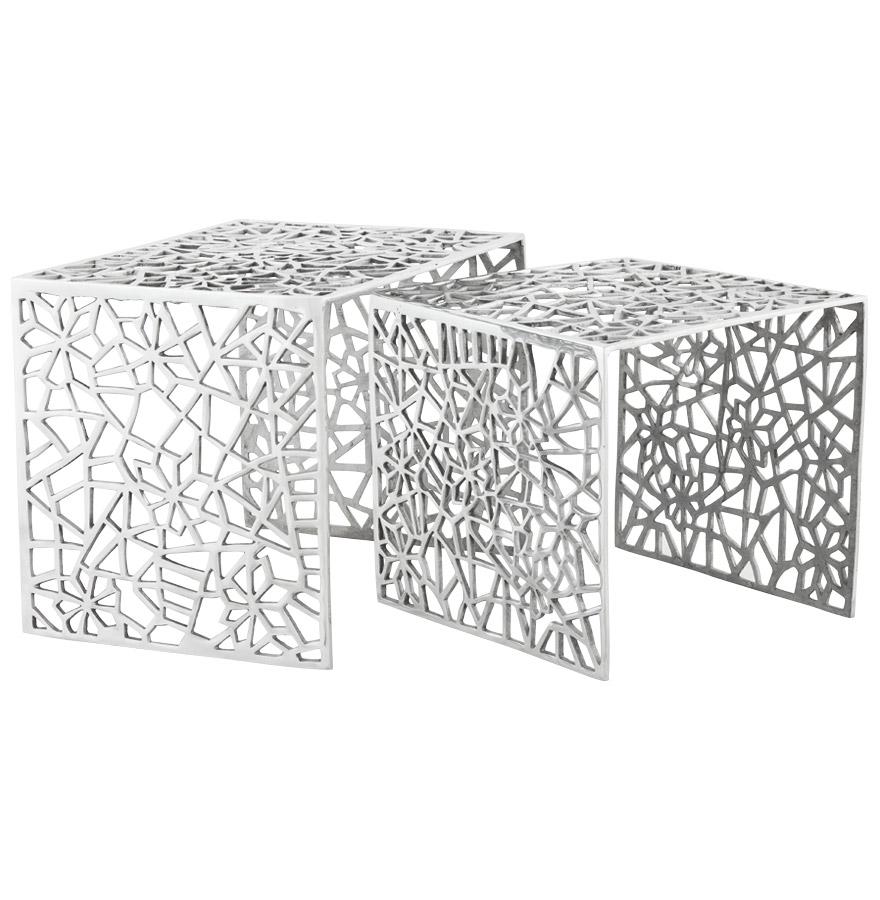 haki alu newsite 05 1 - Table d´appoint ´HAKI´ en aluminium