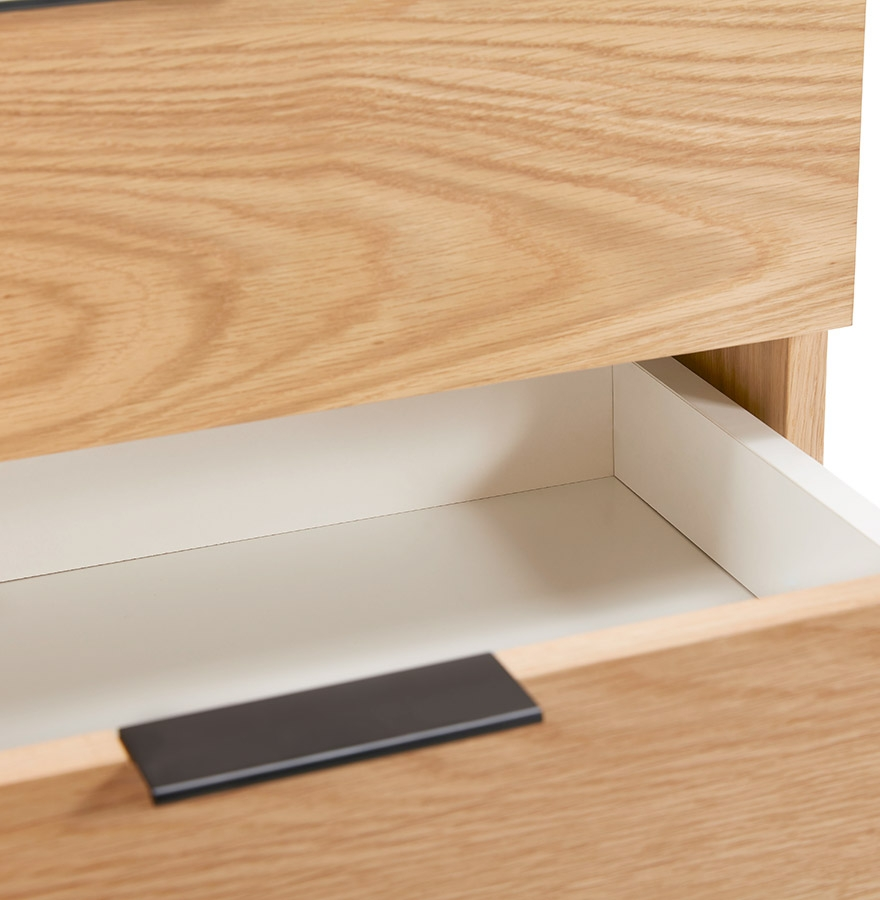 hippie design dressoir in hout met natuurlijke afwerking opslageenheid. Black Bedroom Furniture Sets. Home Design Ideas