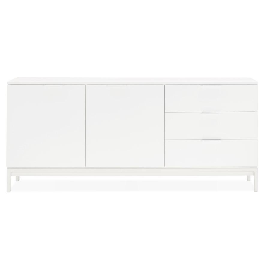 Bahut design ´HIPPIE´ en bois blanc