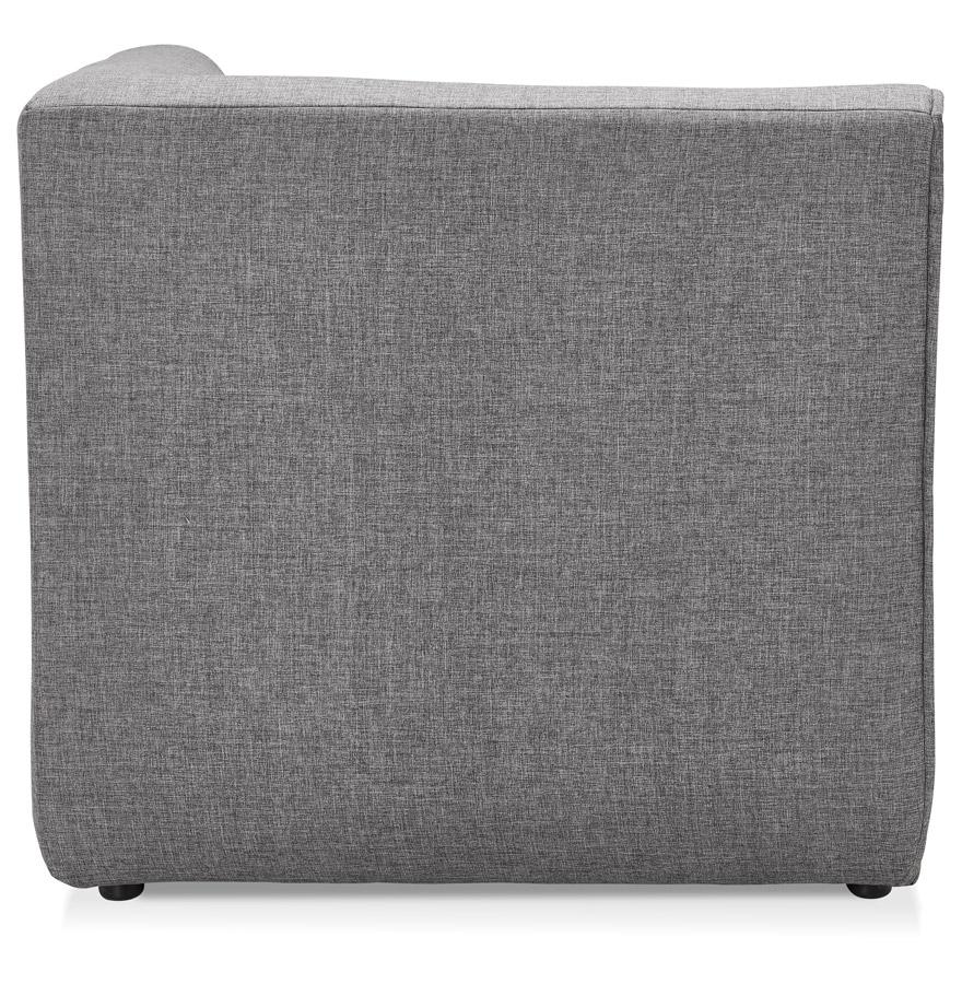 Élément coin de canapé modulable ´INFINITY CORNER´ gris clair