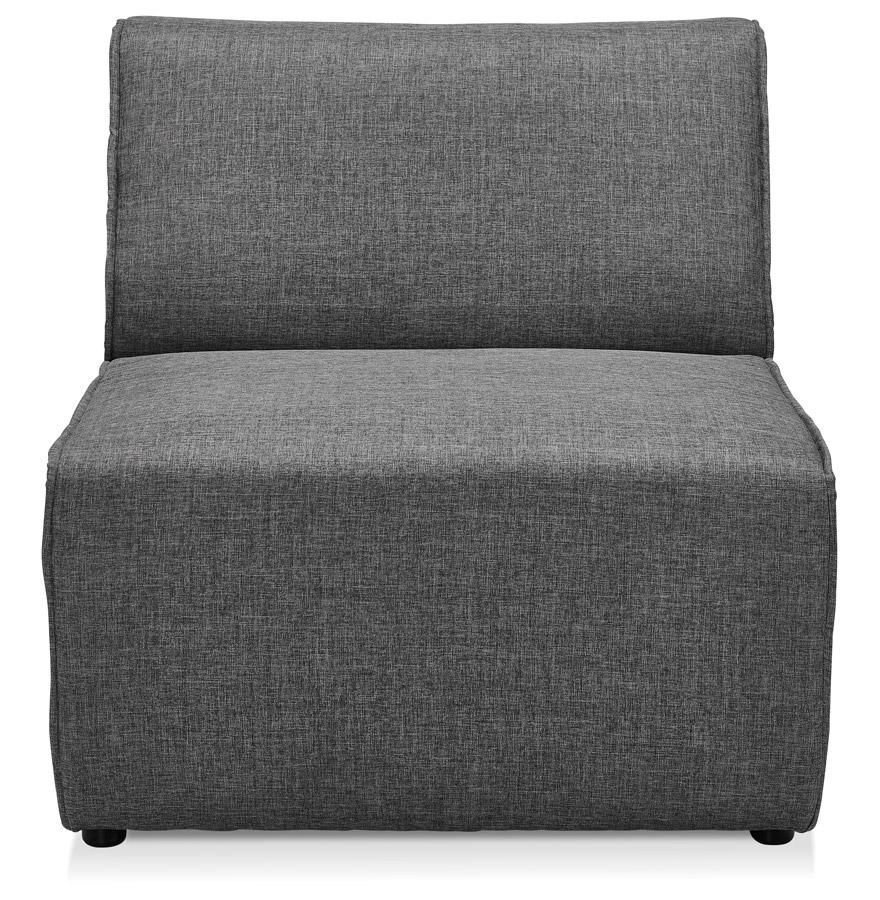 Élément 1 place de canapé modulable ´INFINITY SEAT´ gris foncé