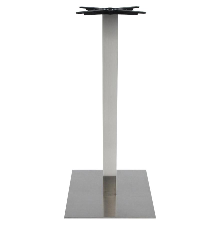 Pied de table ´KARO´ 110 en acier brossé