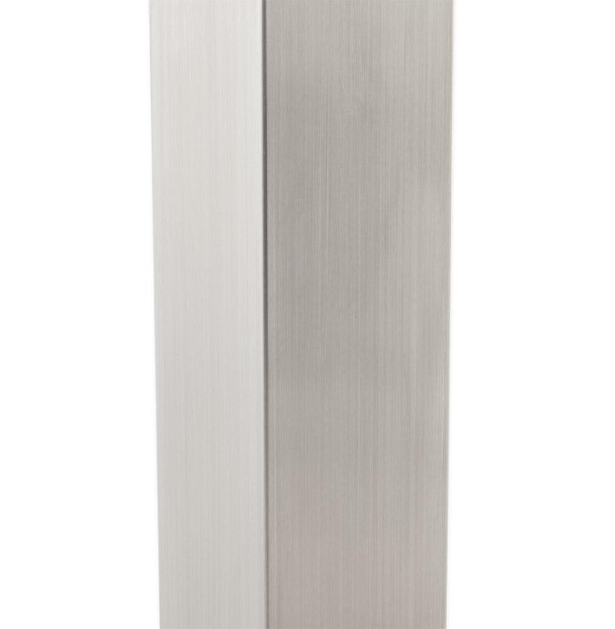 karo 75 brushedsteel newsite d 02 - Pied de table ´KARO´ 75 en acier brossé