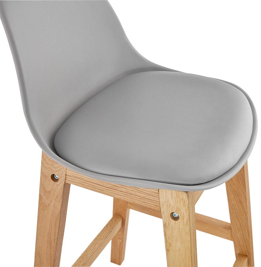 tabouret snack mi hauteur kiko mini gris style scandinave. Black Bedroom Furniture Sets. Home Design Ideas