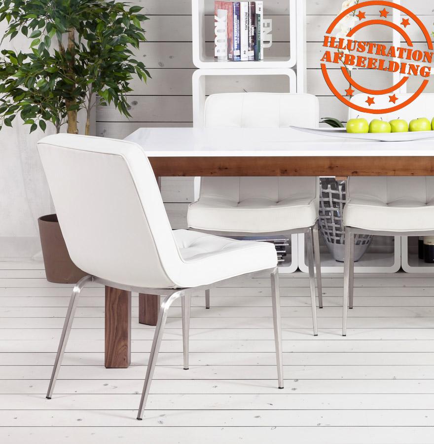 chaise capitonn e kool noire chaise design. Black Bedroom Furniture Sets. Home Design Ideas