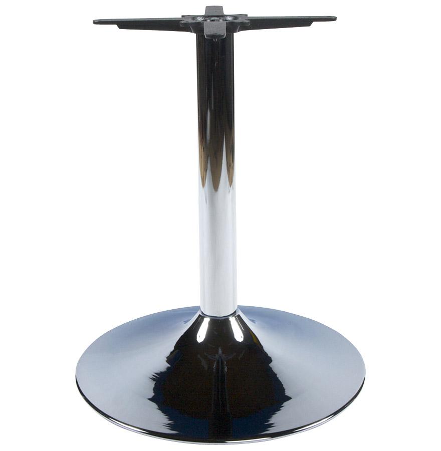 Pied de table ´KROMO´ 75 en métal chromé