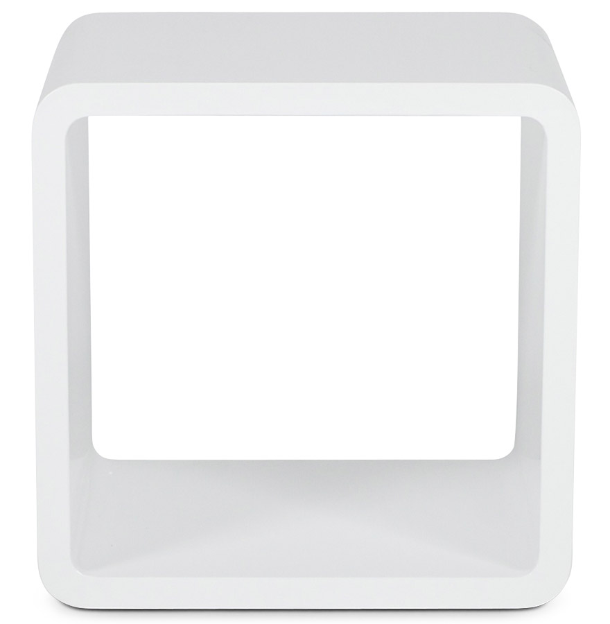 kubic white newsite 02 - Cube de rangement ´KUBIC´ blanc empilable