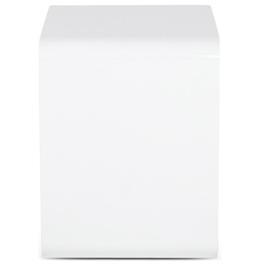 kubic white newsite 03 - Cube de rangement ´KUBIC´ blanc empilable