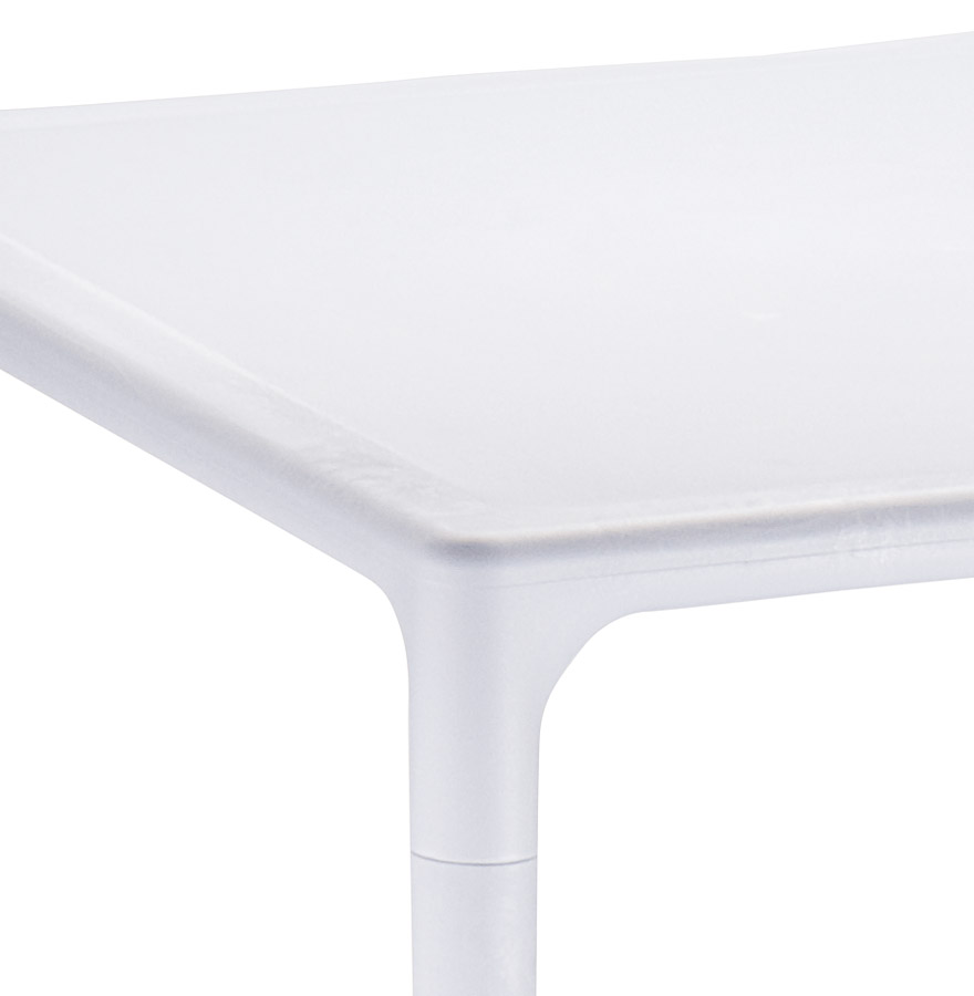 Table à dîner carrée ´KUIK´ design grise - 72x72 cm