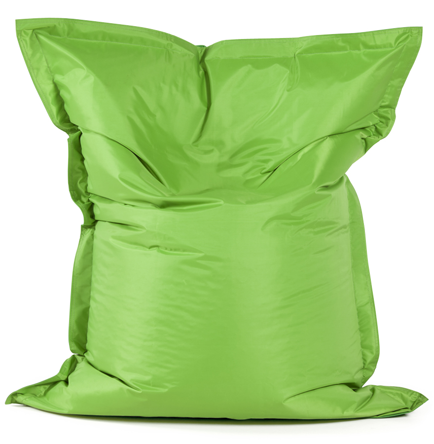 lazy mini green green newsite 02 1 - Pouf ´LAZY MINI´ vert/vert 130x100cm