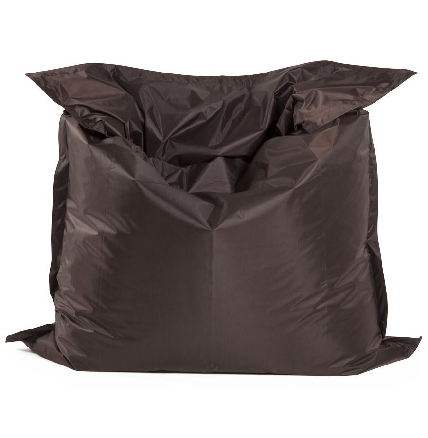 Pouf géant ´LAZY´ brun/brun 180x140cm