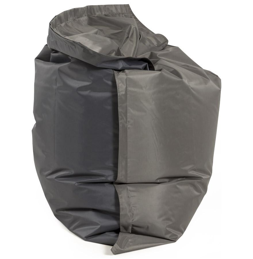 Pouf géant ´LAZY´ gris/gris 180x140cm