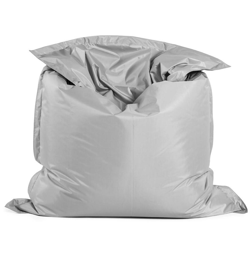 Pouf géant ´LAZY´ gris 180x140cm