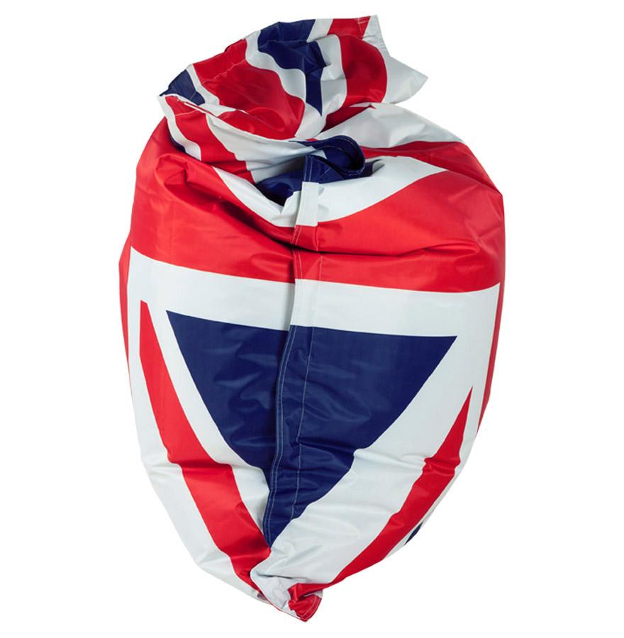 Pouf g ant lazy royal aux couleurs du drapeau anglais for Pouf drapeau anglais
