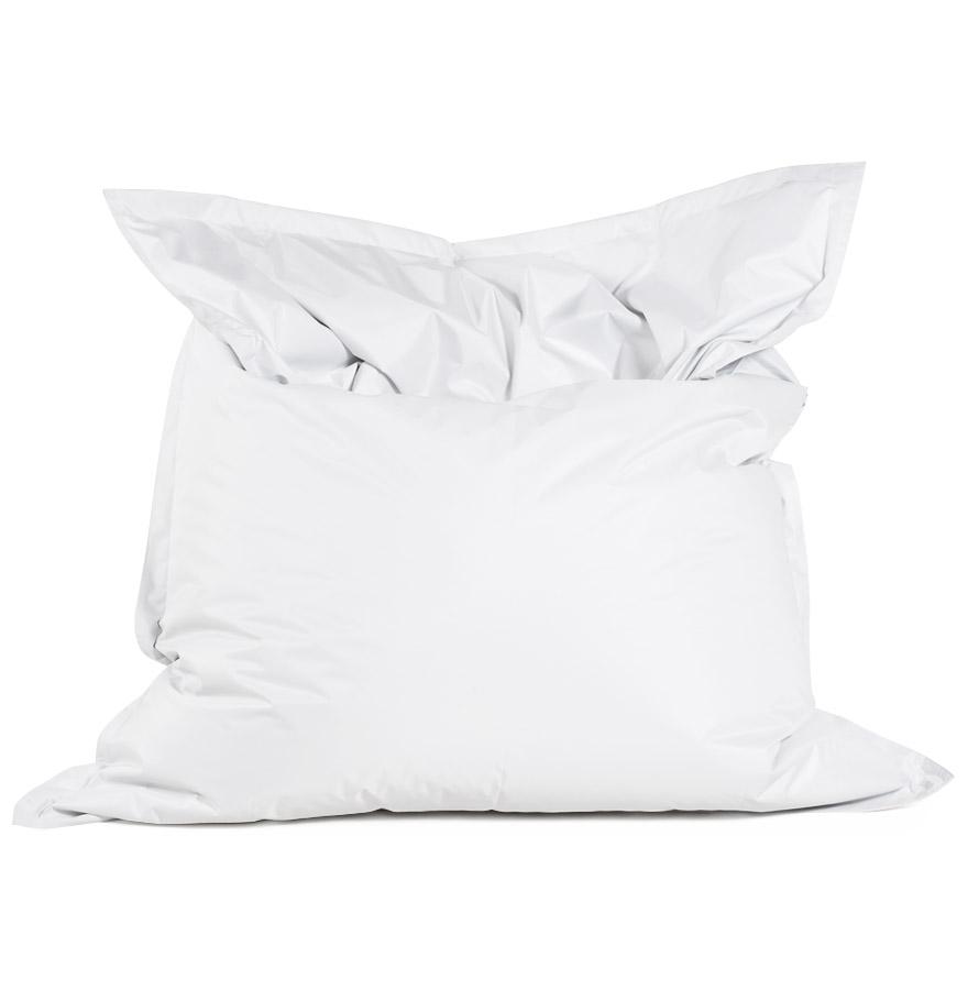 Pouf géant ´LAZY´ blanc 180x140cm