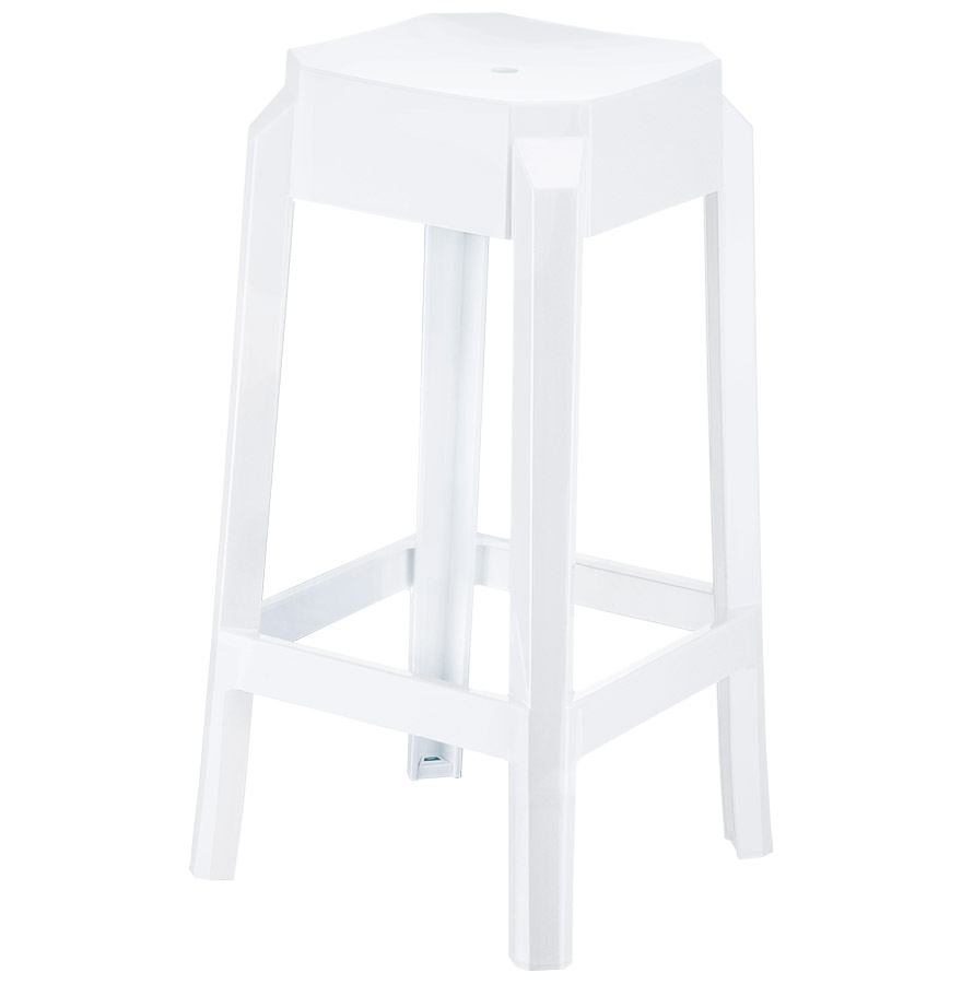 tabouret design leno mini tabouret de cuisine blanc. Black Bedroom Furniture Sets. Home Design Ideas