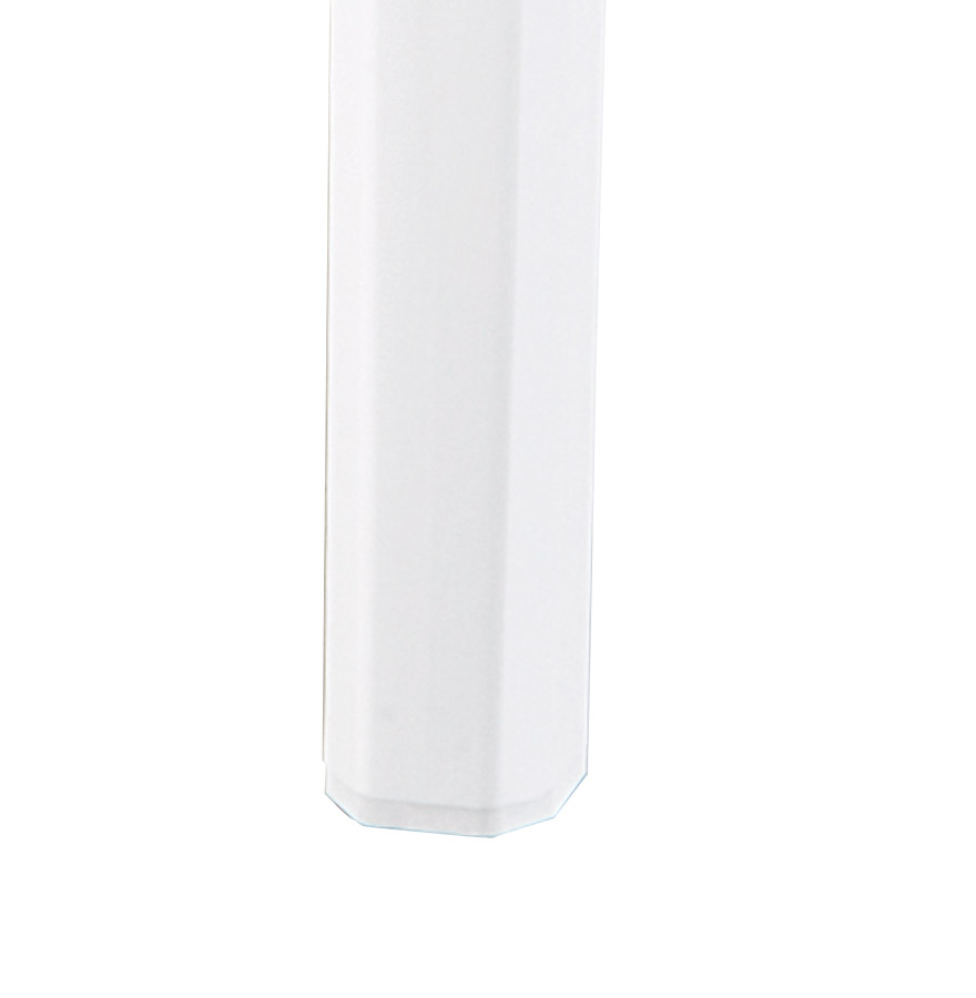 Tabouret de bar ´LENO´ blanc en matière plastique