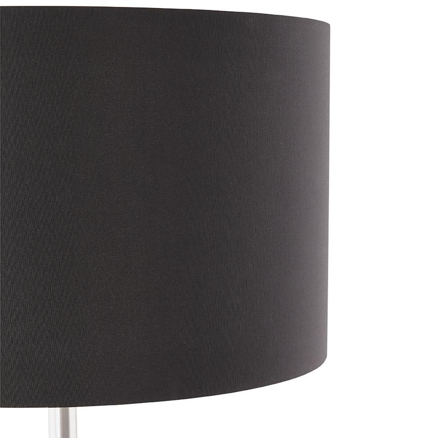 Lampadaire design ´LIVING BIG´ noir réglable en hauteur