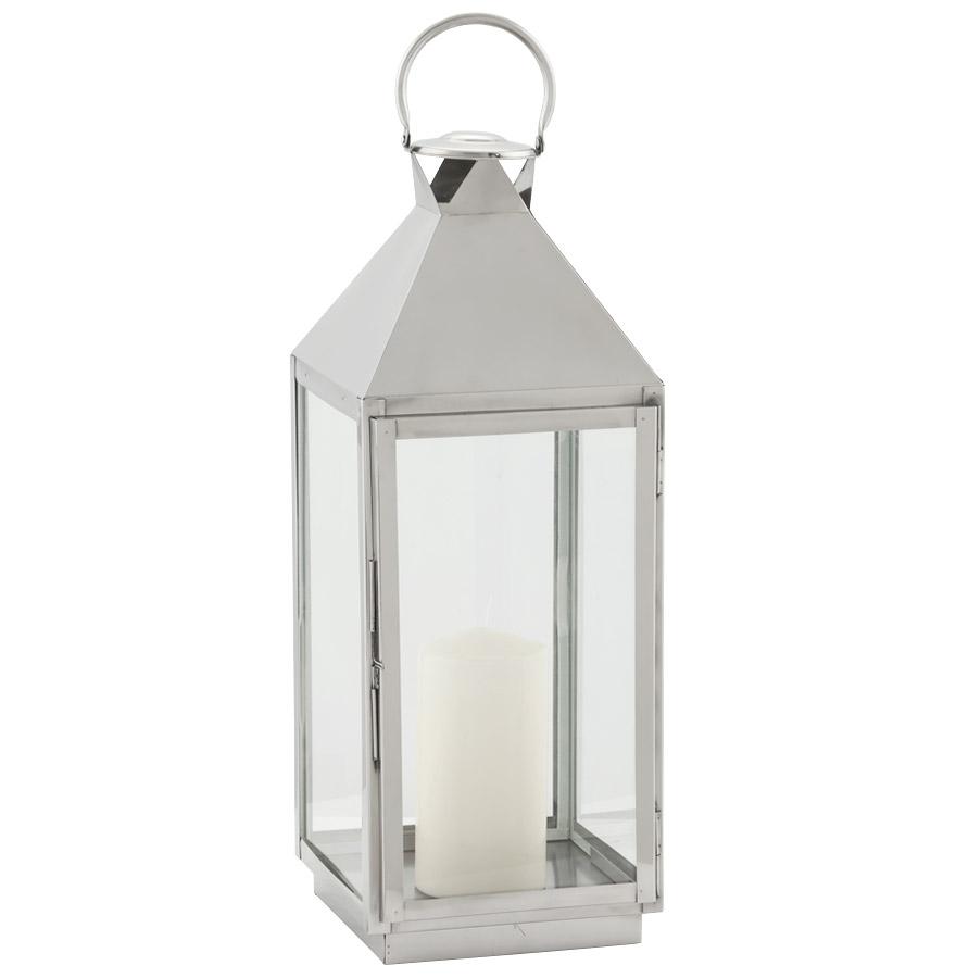 lanterne liwa mini en aluminium et verre luminaire design. Black Bedroom Furniture Sets. Home Design Ideas