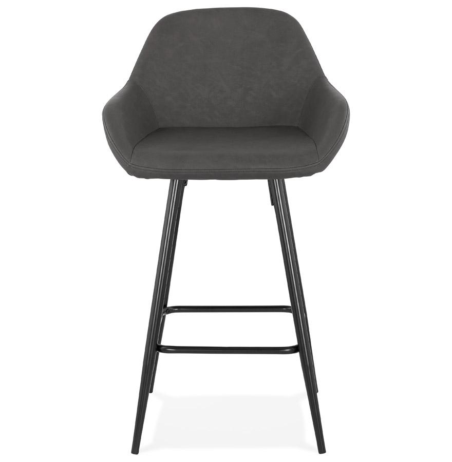 Tabouret snack mi-hauteur ´LOUISE MINI´ gris design