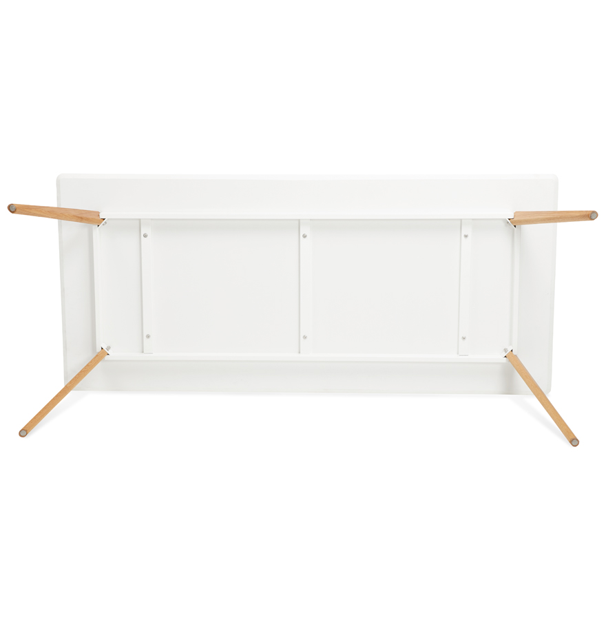 witte design eettafel mady in scandinavische stijl 200x90 cm. Black Bedroom Furniture Sets. Home Design Ideas