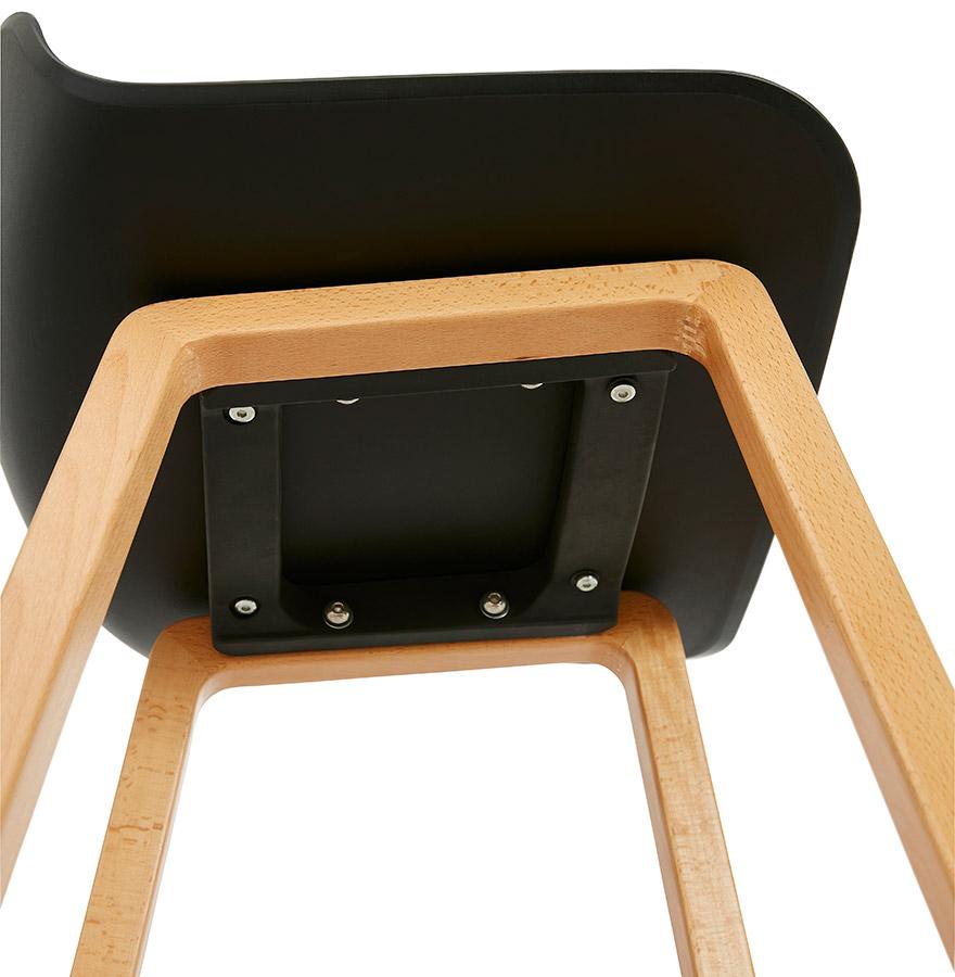 tabouret snack maki mini noir style scandinave tabouret design. Black Bedroom Furniture Sets. Home Design Ideas