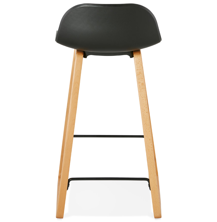tabouret snack maki mini noir style scandinave tabouret. Black Bedroom Furniture Sets. Home Design Ideas