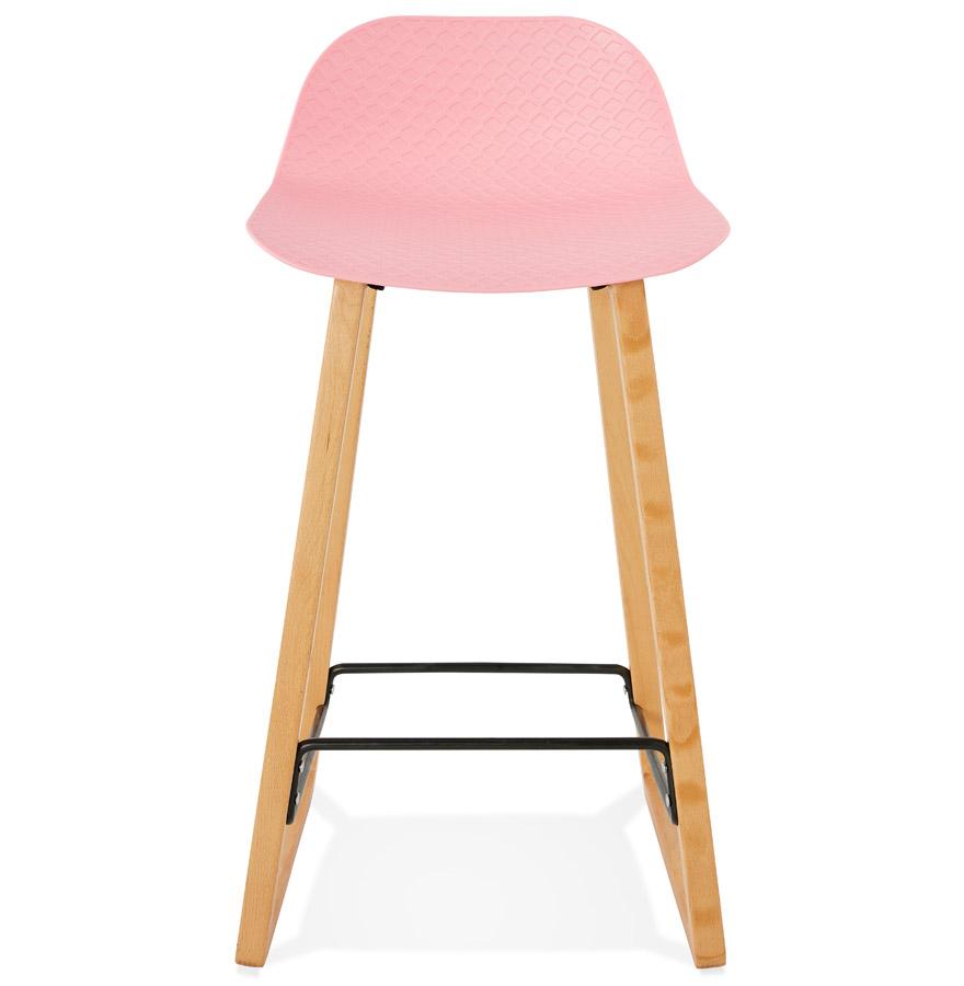 maki mini pink h2 02 - Tabouret snack mi-hauteur ´MAKI MINI´ rose style scandinave