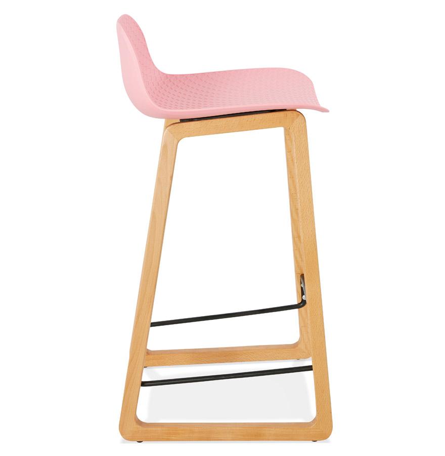 maki mini pink h2 03 - Tabouret snack mi-hauteur ´MAKI MINI´ rose style scandinave