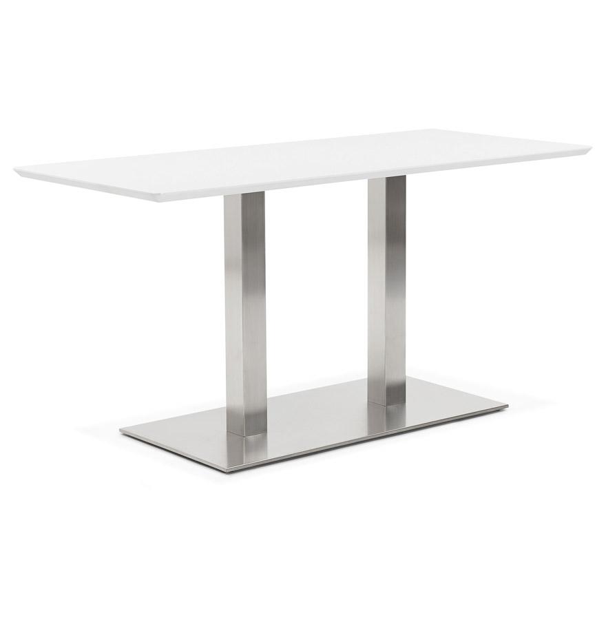 Vergadertafel mambo wit 150x70 cm design bureau for Bureau 150x70