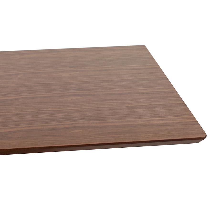 vergadertafel mambo met notenhouten afwerking 180x90 cm. Black Bedroom Furniture Sets. Home Design Ideas