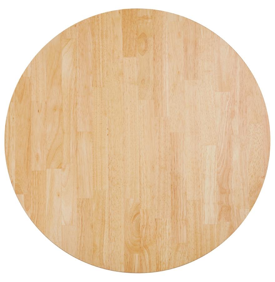 plateau de table massivo rond en bois massif 70 cm. Black Bedroom Furniture Sets. Home Design Ideas