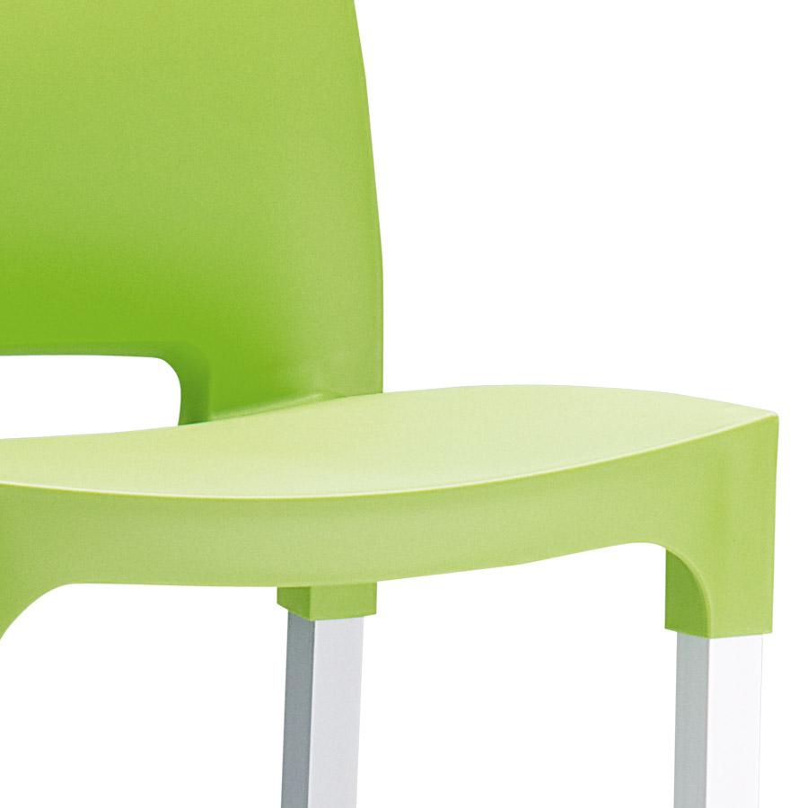 tabouret de bar maty vert pour ext rieur et int rieur. Black Bedroom Furniture Sets. Home Design Ideas