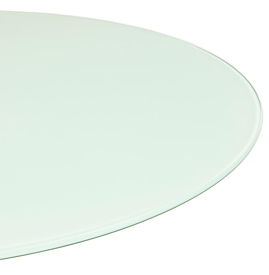 miam white d 01 1 - Table à dîner design ronde ´ALEXIA´ blanche - Ø 120 cm