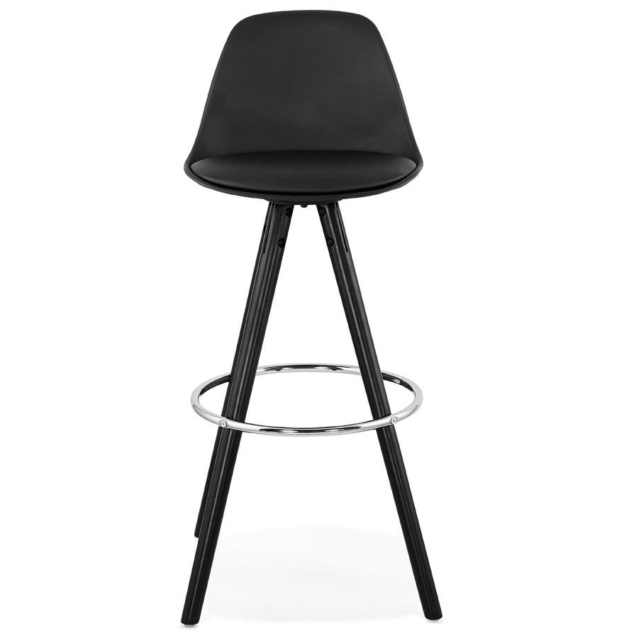 Tabouret de bar design ´MISTIK´ noir